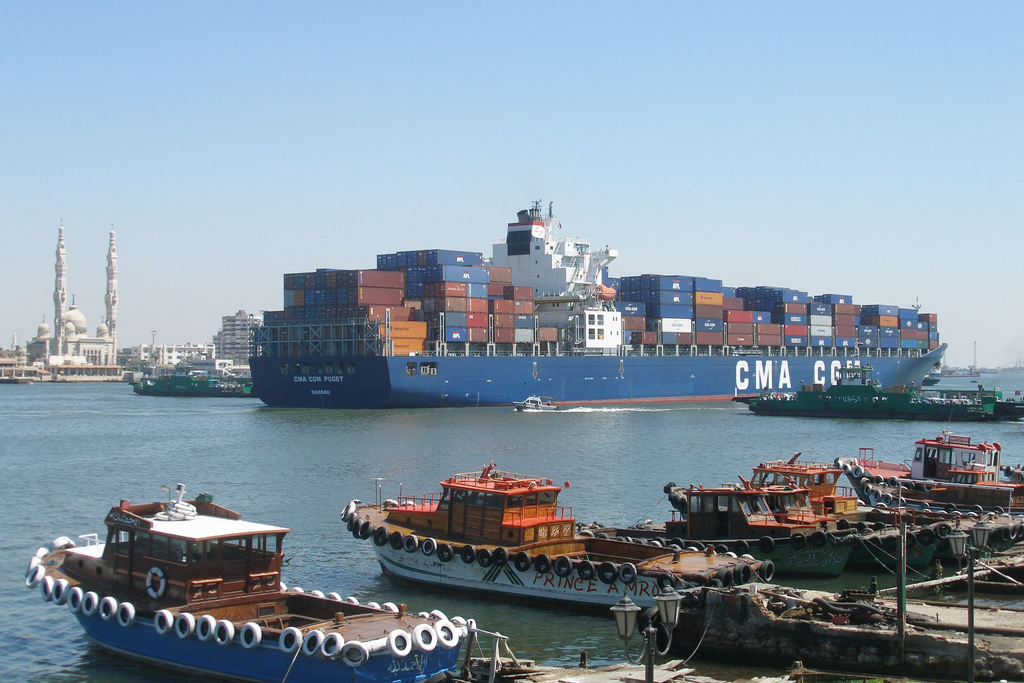 Direct Shipping Line Egypt Brazil