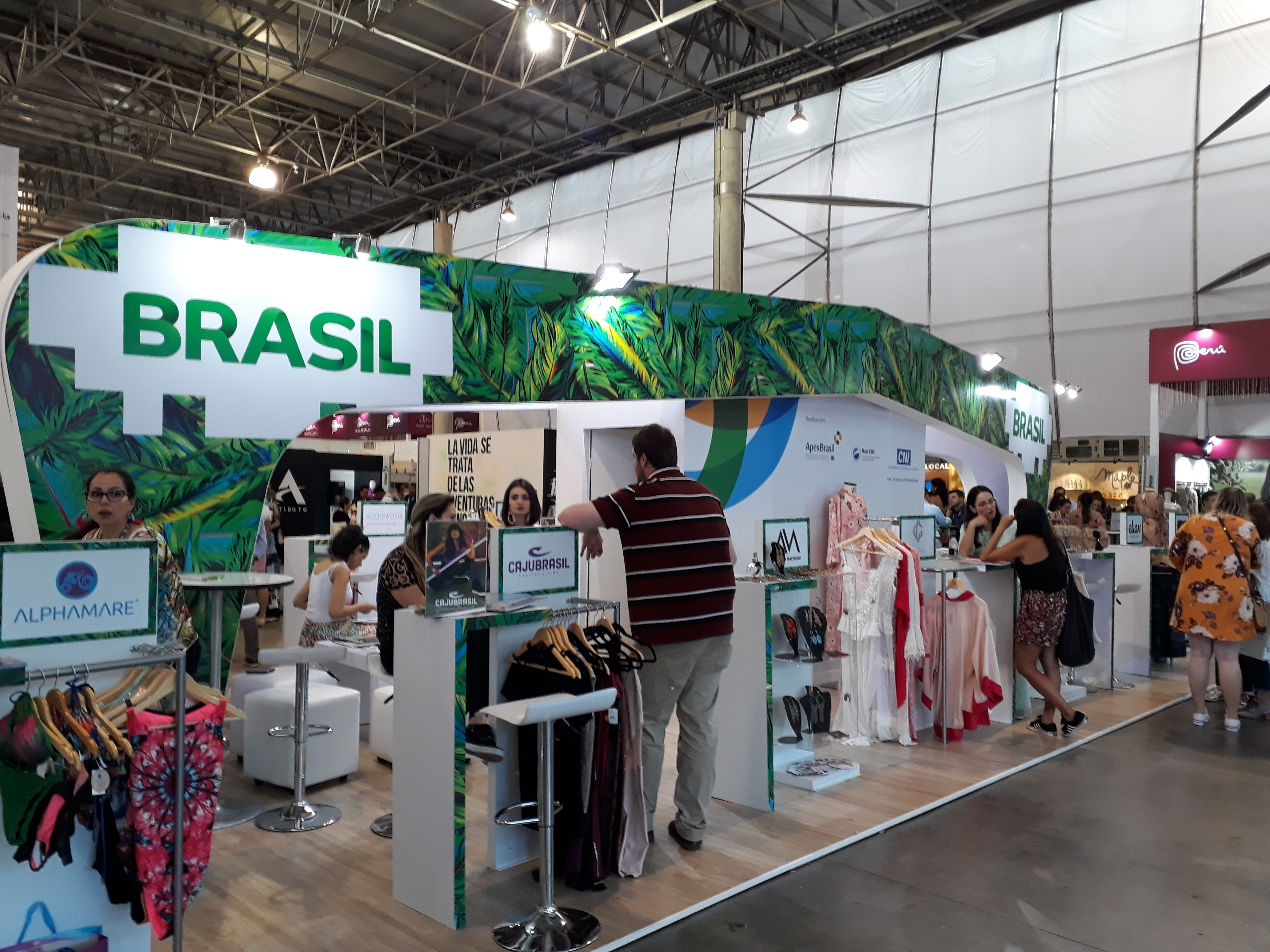 Brazilian government sends small brands to exhibit at Colombiamoda