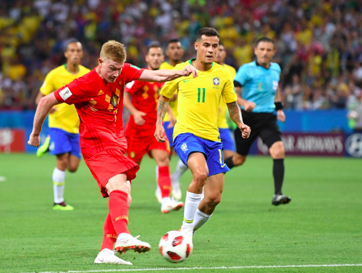 Brazil's World Cup hopes dashed by Belgium in 2-1 quarterfinal loss