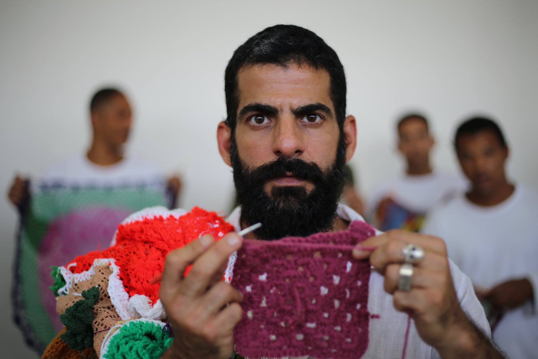 A stitch of hope: Brazilian prisoners who learn crotchet surprise runways