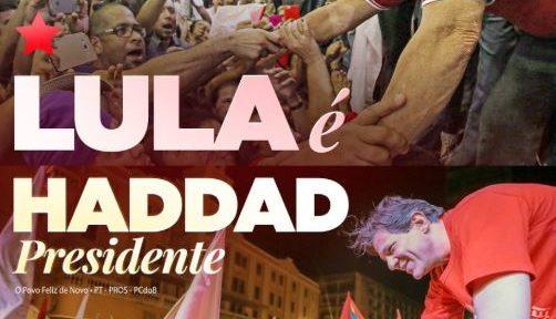 Lula Haddad PT Brazil Elections