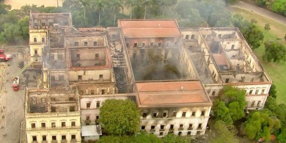 National Museum Brazil Fire