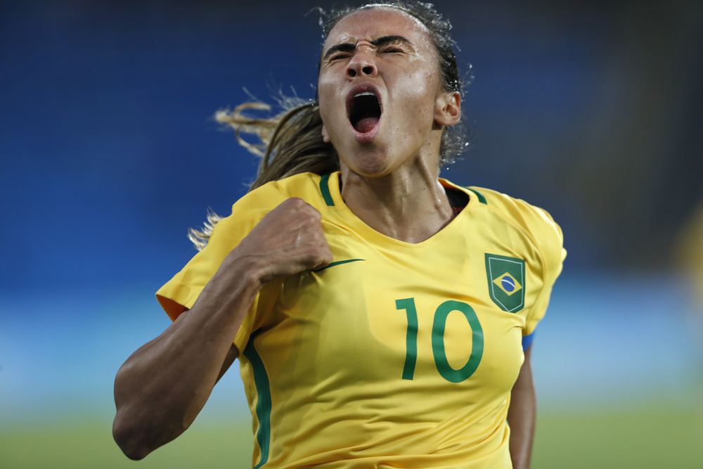 Brazilian football star Marta named FIFA Women's World Player 2018