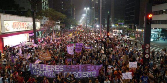 #EleNao Bolsonaro Women Brazil Elections