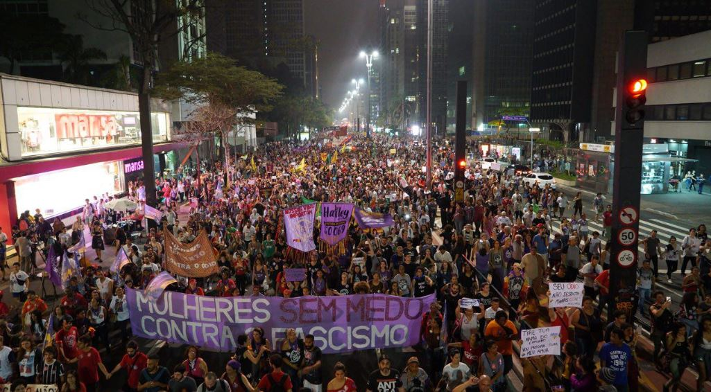 Tensions rise ahead of this weekend's vote in Brazil