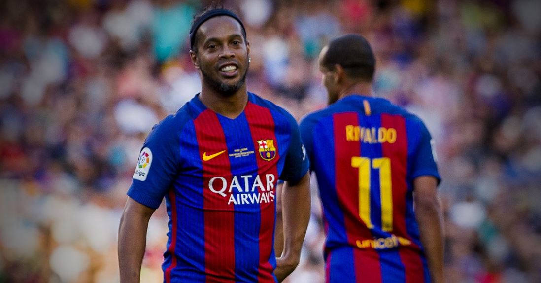 FC Barcelona to distance themselves from Ronaldinho as Club Ambassador for declaring support of Bolsonaro