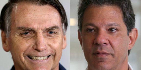 Brazil Elections Haddad Bolsonaro