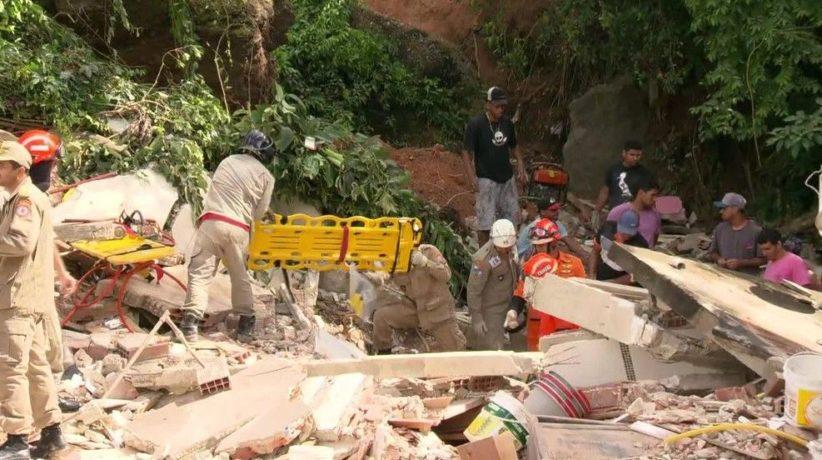 Niteroi Rio de Janeiro Mudslide