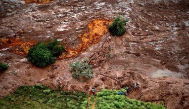 Brumadinho Mudslide Dam Collapse Minas Gerais