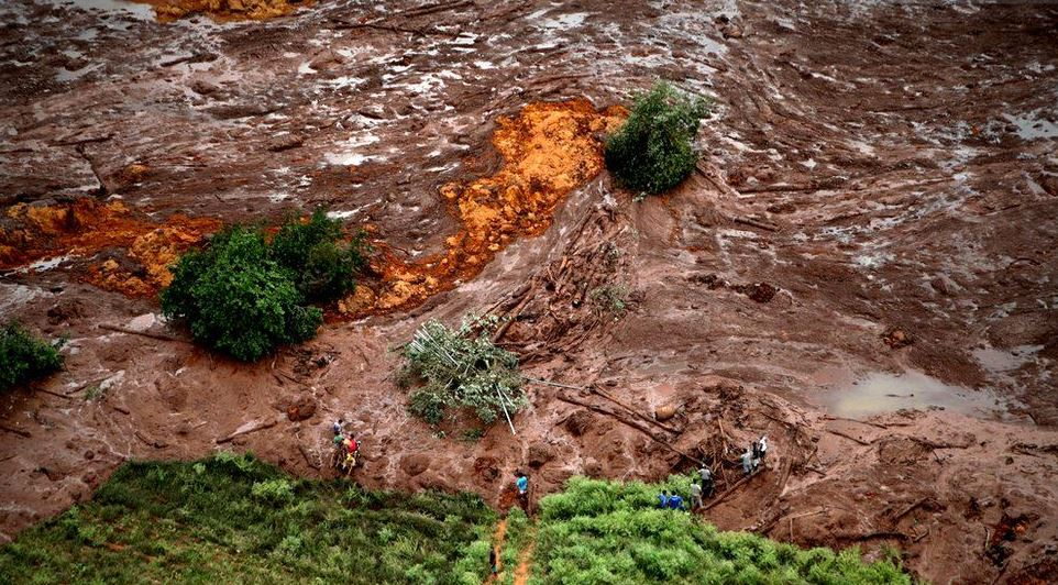 Brazil reels from fatal mudslide caused by Minas Gerais mining dam collapse