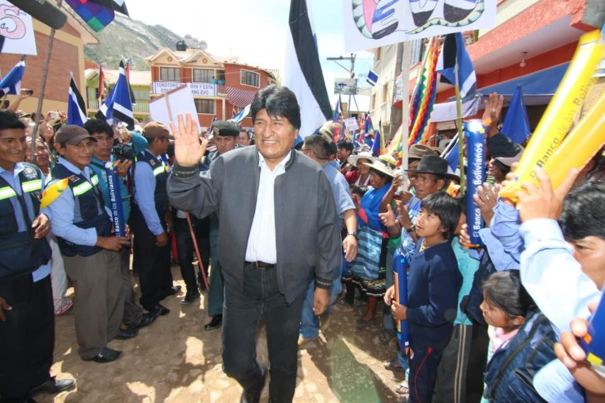 """Indigenous communities stand up to intolerance and discrimination,"" Evo Morales hits back at Rio state representative offence"