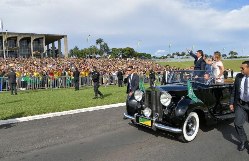 Inauguration Bolsonaro