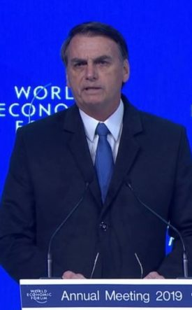 Jair Bolsonaro World Economic Forum